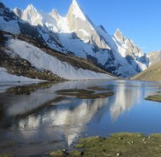 Leila Peak, Pakistan; beating the lockdown blues - blog