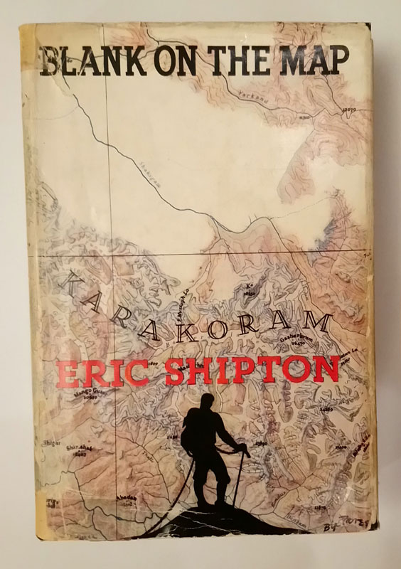 Shipton Blank on the Map 1st Ed