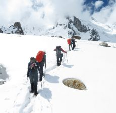 Trekking down the Gondogoro Glacier; beating the lockdown blues - Blog