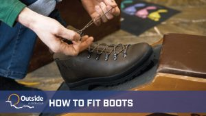 How to fit hiking boots