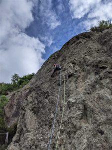 Outside Guest Blog | Trad Climbing with kids | Kleine Reinne Castle Rock SJV 2
